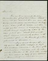1821. 10 Nov. John Hopton Forbes to Christopher Jeaffreson...
