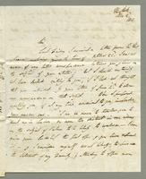 1818. 2 Nov. Lord Romney to Christopher Jeaffreson...