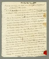 1814. 2 Nov. Joseph Hill to Christopher Jeaffreson, 2p.