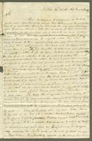 1819. 26 Feb. John Tyson to Christopher Jeaffreson.
