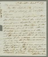 1819. 3 June. Robert William Pickwood to Christopher Jeaffreson...