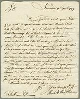 1799. 9 April. Richard and Thomas Neave to Christopher...