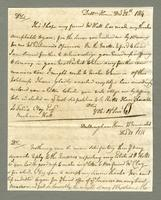 1814. 28 Dec. Christopher Jeaffreson to Felix Clay...