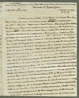 1819. 27 Feb. Joseph Hall to Christopher Jeaffreson...