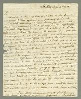 1818. 5 Sept. John Tyson to Christopher Jeaffreson...