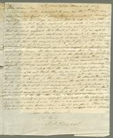 1819. 24 March. Robert William Pickwood to Christopher Jeaffreson...