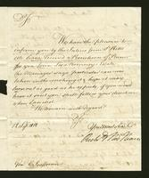 1818. 12 Sept. Richard and Thomas Neave to Christopher Jeaffreson...