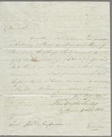 1822. 2 Sept. John Hopton Forbes to Christopher Jeaffreson...