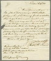 1801. 13 April. Richard and Thomas Neave to Christopher Jeaffreson...