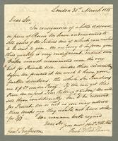 1815. 30 March Richard and Thomas Neave to Christopher Jeaffreson...