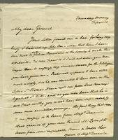 1819. 25 March. Joseph Hill to Christopher Jeaffreson...