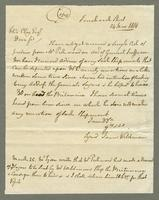 1819. 24 June. James Wildman to Felix Clay...