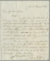 1819. 24 Dec. James Wildman to Christopher Jeaffreson...