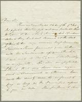 1821. 11 Dec. John Hopton Forbes to Christopher Jeaffreson...