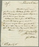1802. 14 Oct. Andrew Johnson per Thomas Neave to...