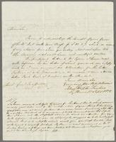 1822. 17 Sept. John Hopton Forbes to Christopher Jeaffreson...