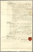 3d June 1772 Mr Fitzhugh to Mr Rogers } Bond for Payment of £1500 and Intt. (docket title)