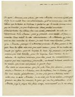 Versailles, 7 Oct. 1774. Ms. Letter, signed