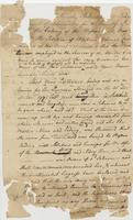 Petition of Winborn Adams Commander of the Armed Schooner...