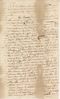 Copy of Memorial to the General Court of the Colony of Massachusetts Bay-- May. 1st. 1776 upon the detention of part Sloop Willes Cargo by the Committee at Blue Hill Bay under Care of James Sullivan Esqr. (docket title)
