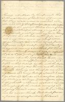 Power of Attorney to Thomas Lewis by Thos. Martin. (docket title)
