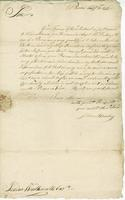 Boston, 21 Feb. 1777. ALS to Joshua Wentworth