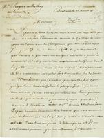 Bordeaux, 12 Aug. 1778. ALS to Pocquet de Puilhery