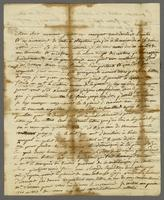"Guadeloupe, 12 Nov. 1778. ALS to ""Monsieur terrason Negt. a york..."