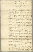 Sir G: Br Rodneys orders from Admiralty and his orders to Mr Digby at Gibraltar 1780 -- (docket title)