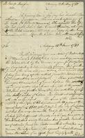 Antigua, 18 May [&] 14 June 1780. ALS to