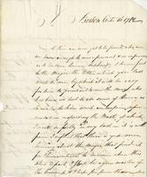 Boston, 16 Oct. 1782. ALS to Joshua Wentworth