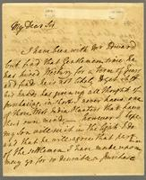 "25. Aug. 1783. ""My Dear Sir I have been with Mr..."