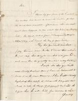 Boston, 4 Sept. 1783. Ms. letter to Joshua Wentworth