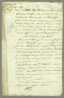 Extrait p. Melle. Delatouche de beauregard. ... (docket title)