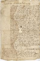 Letter to Arthur Sparke, Barbados, 13 May 1654.