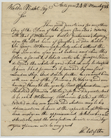 "Kerr, Charles, 1739-1795. Antigua, 24 March 1788. ALS to ""Walter""..."