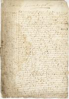 Letter to Arthur Sparke, Jamaica, 6 Aug. 1660.