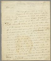 "ALS to William Stockdale, London, 1793?, ""Dear Sir I..."