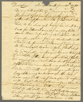 "Somersworth, N.H., 20 June 1793. ALS to ""Christopher Irvin Esq. att…"