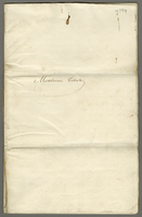 Montrose Accotts 31st December 1794 (docket title).