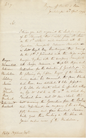 Boyne, off Pointe a Pitre, Guadeloupe, 13 April 1794. ALS to Philip...