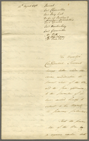 Copy of a Minute of Cabinet <14th Augt. 1795> (docket title)