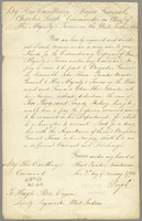 Head Quarters, Martinique, 2 Jan. 1796. Ms. order from Major...