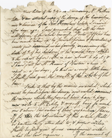 Boston? 11 March 1796. ALS to Joshua Wentworth