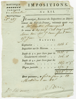 Martinique, 1 July 1804