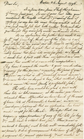 Boston, 26 Aug. 1796. ALS to Joshua Wentworth