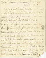 Boston, 20 Jan. 1797. ALS to Joshua Wentworth