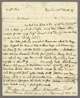 Copy Letter Mr. Hay of Grenada To Messrs Tod and Co. 20th March 1797. (docket title)