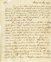 Boston, 10 May 1797. ALS to Joshua Wentworth