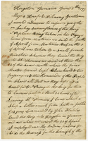 Kingston, Jamaica, 3 June 1797. Ms. Letter to Knap and Dillaway,...